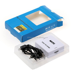 High quality rca cable hdmi to vga converter 1080p