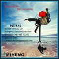 7gx-4.4c miheng 6hp 4 golpes diesel motor de popa