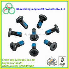 oxide lock screw with Nylock patch