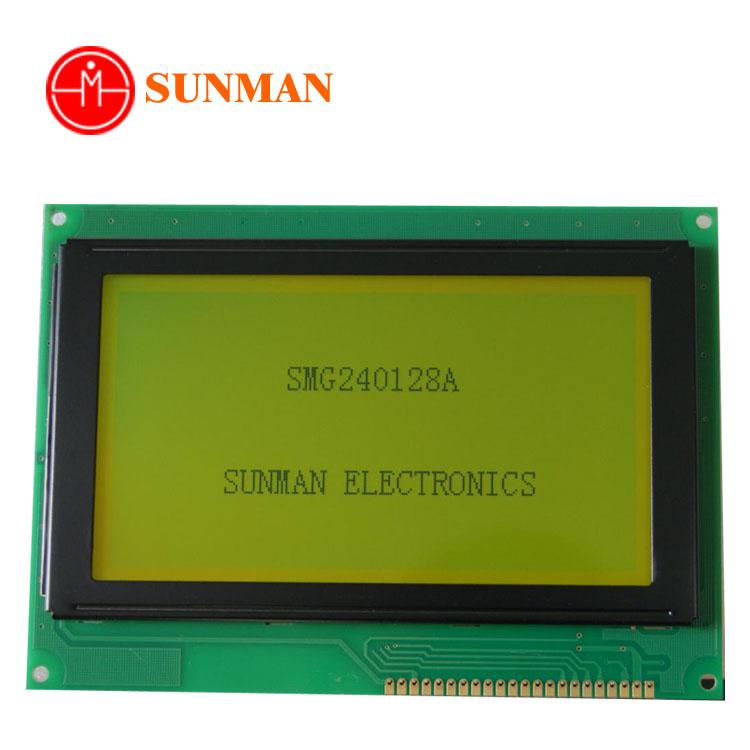 5.1 дюймов stn желто-зеленый/синий 240128a 240x128 T6963C графический ЖК-дисплей модуль