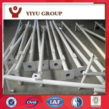 6 meters to 15 meters of the different galvanized street lighting pole price