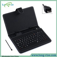 Wholesale Cheap Price 10.1 inch Tablet Keyboard Case Micro USB