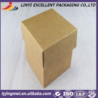 folding kraft paper box for packing gift/candy/jewelry