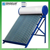 DENO High Quality Best Selling Residential Low Pressure Compact Rooftop Solar Water Heater