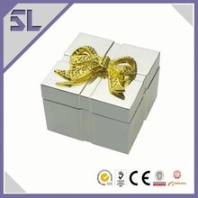 New Arrival Wedding Favors And Gifts Trinket Box Metal Jewelry Box Metal Diamond Trinket Box