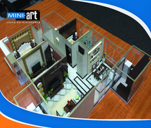 Architectural Scale Model Making, Internal Layout Model