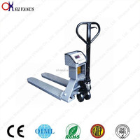 LCD Display 2000kg Hydraulic Forklift Scale
