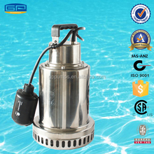 Stainless Steel Sump Pumps with CSA certification - submersible water pump