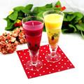 Flor de vidro de geléia de vela/massa de vidro da vela votiva titulares/tall castiçais de vidro