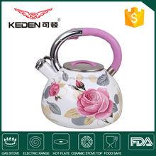 Porcelain Enamel Whistling enamel tea pot