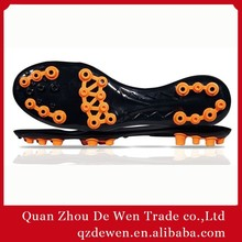 36# To 45# 2015 Colorful Soccer Shoe TPU Outsole For Men Women
