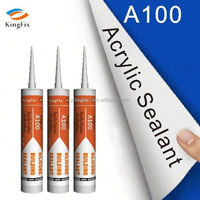 Kingfix A100 Gap filler transparent silicone sealantsilicon sealant glass