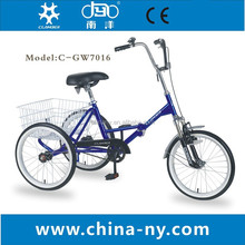 """GW7016 20"""" adult disabled trike"""