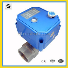 220V electric actuated ball valve for pure water system manual valve