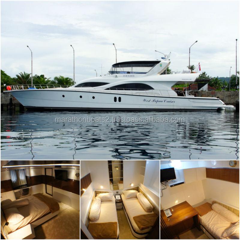 Brand New Marathon 100 Flybridge Cruiser Luxury Yacht