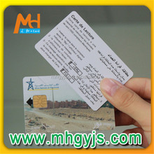 Pepaid Contact IC Card With At24c02 Chip (2K Memory)