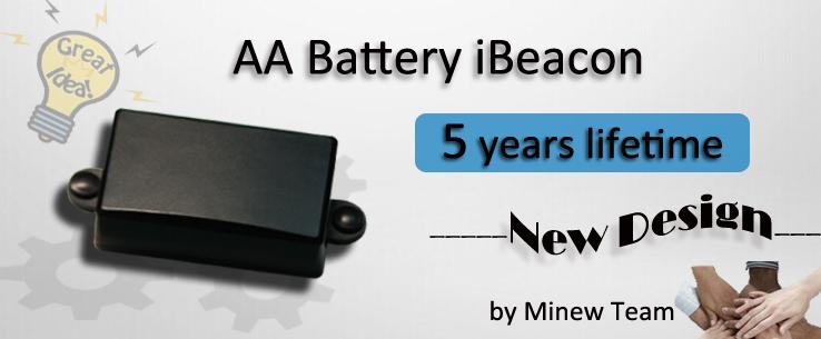 AA battery ibeacon