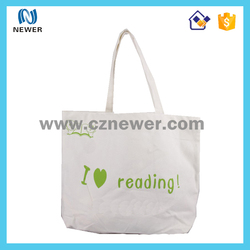 Professional shockproof plain tote shopping cotton bag for promotion