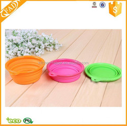 Wholesale Food Grade Pet Products Silicone Pet Bowl Dog Food Bowl