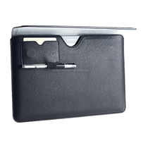 Universal Laptop Sleeves Tablet PU Leather Case for iPad Air/6