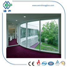 Wind Resistant Curved Tempered Glass, 8mm / 10mm / 12mm Bent Tempered Safety Glass