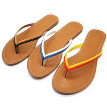jewellery new products cheap straw women wholesale flip flops