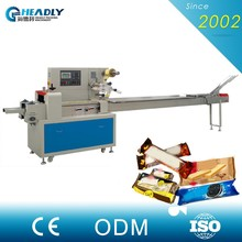 Without Pallet Auto Biscuit Horizontal Flow Packing Machine