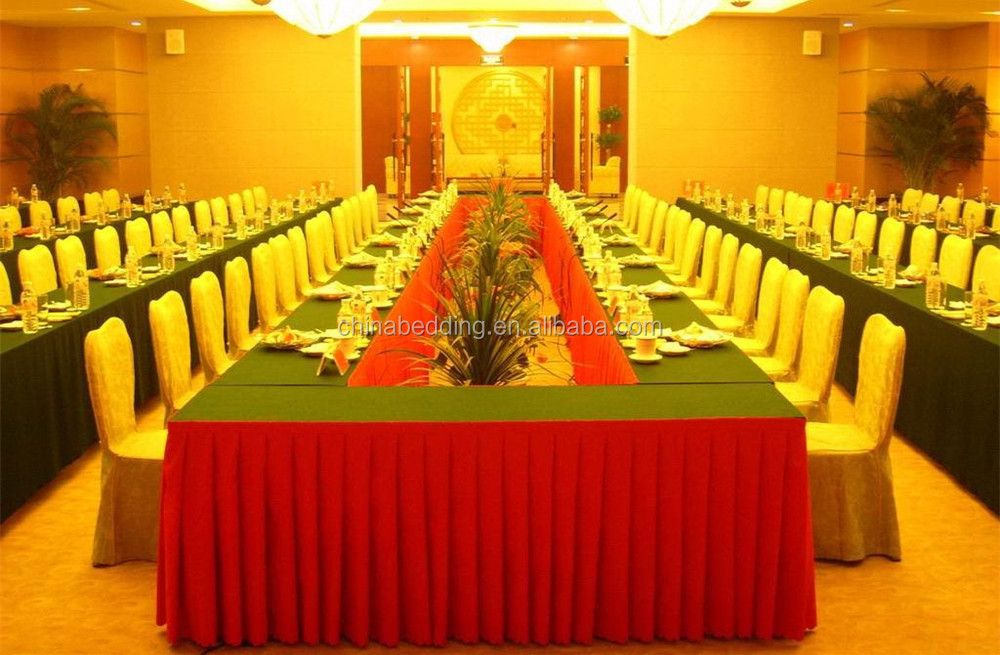 Hotel Metting Room Conference Table ClothRectangular Table Cloth - Conference table covers