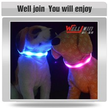 Various good quality led light dog collar