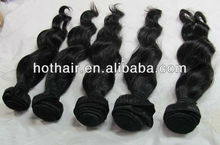 A Great Deal Of Cheap Noble Loose Wave Hair Weft