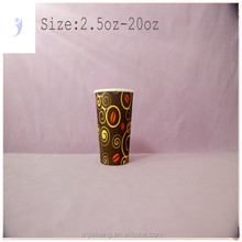 pe coated paper cup fan,hot drink paper cup,design your own paper coffee cup