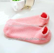 2013 new design! Beauty spa gel socks / Moisturizing gel socks/beauty foot moisturizing socks2013 new design! Beauty spa gel so