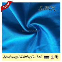 100% polyester plain tricot lining fabric for dress