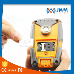 Real Time Button Reading Rubber and Rubber guard tour system