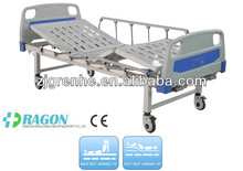 DW-BD161manual bed with two functions manual stainless steel hospital bed