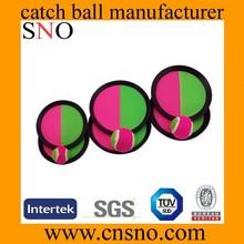 Wholesale custom beach plastic velcro catch ball