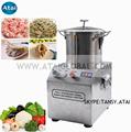 procesador de alimentos comerciales de acero inoxidable cortador de buñuelos de carne de las frutas máquina de cortar
