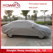 Cotton Fabric Waterproof UV protection and hail/ snow proof Car Cover