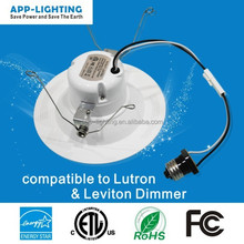 North American standard Energy Star cUL UL certified retrofit led daylight recessed lighting