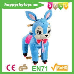 Hot!!fisher price playground equipment,good quality and cheap plush toy,inflatable jumping horse