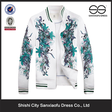 Atacado imprimir étnico tecido feito bordado feito sob encomenda Ethinc jaquetas
