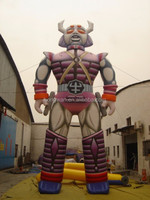 2015 new design Giant inflatable cartoon ,inflatable robot model for advertising