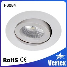 2015 NEW lighting with 8W sharp down light led, dimmable fire rated