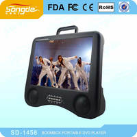 China wholesale 15inch Portable dvd with full function