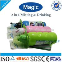 Creative Magic 2 in 1 Misting&Drinking FDA BPA Free Different Types Water Bottles