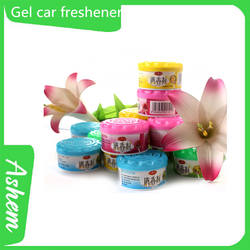 Hot selling OEM solid freshener for car with logo printing IC-819