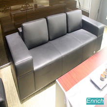 Modern Luxury Leather Sofa Set Office Furniture