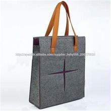 bolso de fieltro personalizado, bolso de mano para las señoras