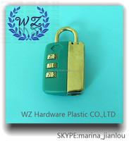 Customized combination padlock accessories,digital lock, safety code lock