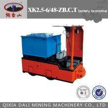High Quality battery locomotive for mining,narrow gauge battery locomotive